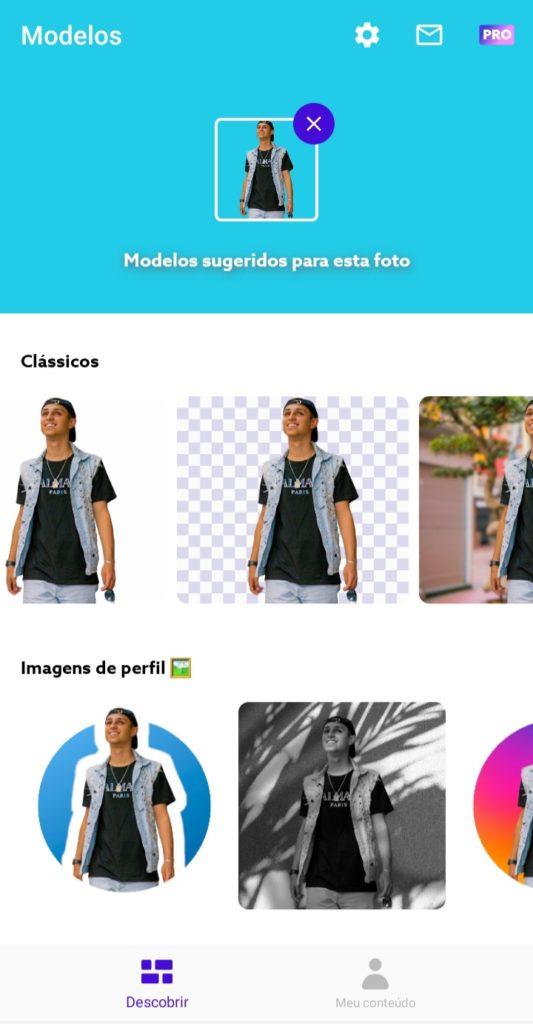 Maneira fácil de remover fundo de imagem no celular