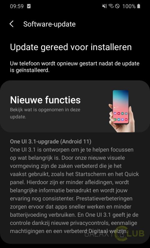 Samsung Galaxy Com Android 11