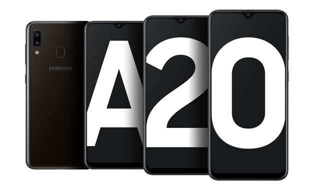 Samsung Galaxy A20 com Android 11