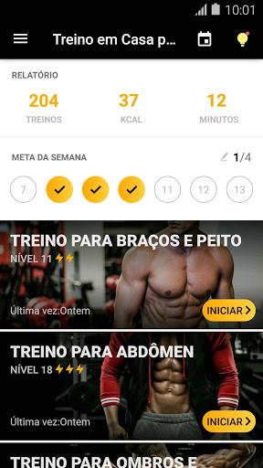 Treino em Casa para Homens - App de Musculação