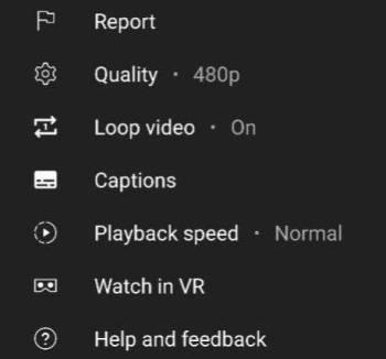 Novo recurso de Loop no Youtube foi lançado para Android