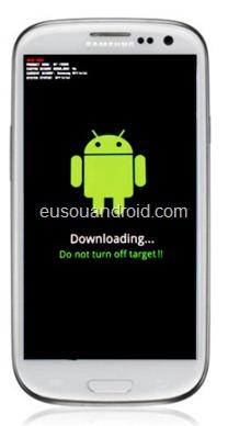 Modo download Galaxy S 3 a