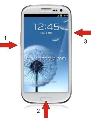 Modo download Galaxy S 3