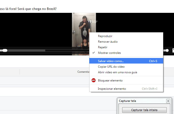 Baixar videos do facebook 5