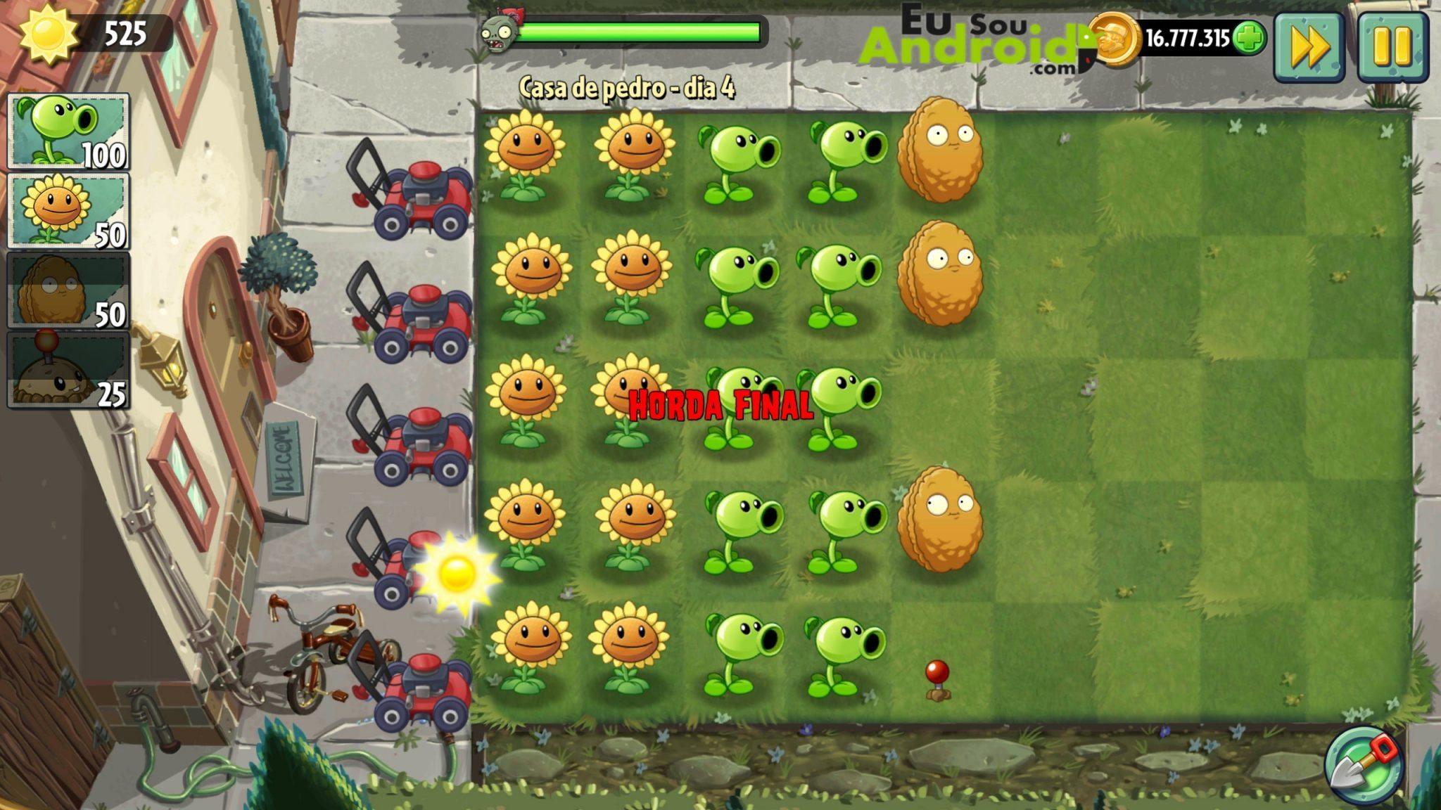 Download - Plants vs. Zombies 2 MEGA MOD Dinheiro, Gemas e Chaves infinitos