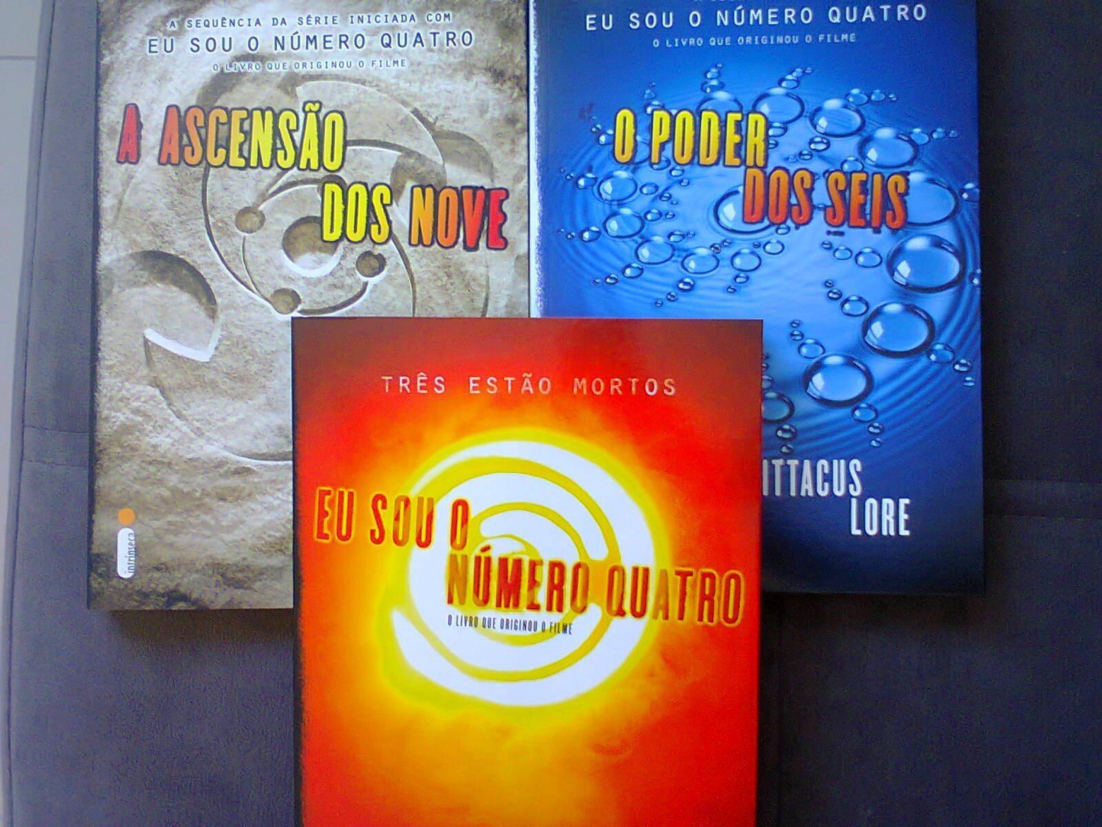 Livro - A Ascensão Dos Nove - Os Legados de Lorien Vol. 3