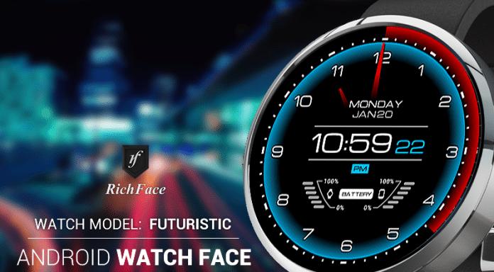Download - Futuristic Watch Face Apk - Eu Sou Android