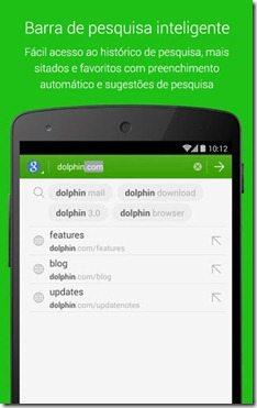 Navegador Dolphin download imagem 3