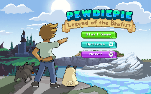 PewDiePie Legend of Brofist 1