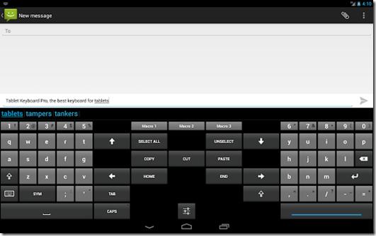 Tablet Keyboard Pro imagem 1