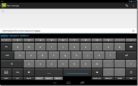 Tablet Keyboard Pro imagem 2