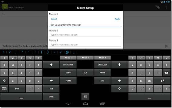 Tablet Keyboard Pro imagem 3