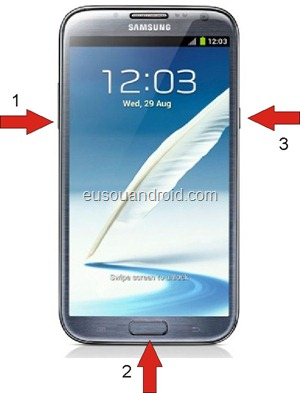 Modo download Galaxy Note 2 N7100
