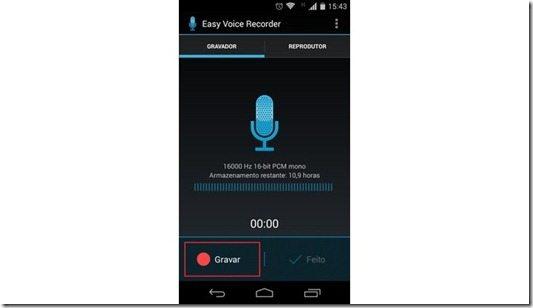 Aprenda a gravar áudio no moto G