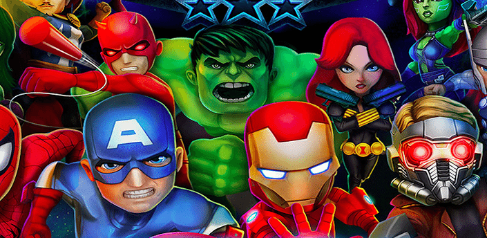 marvel mighty heroes apk eu sou android