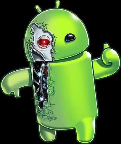 mascote cyber eusouandroid